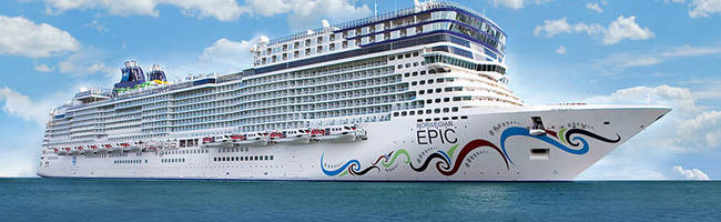 OFERTAS NORWEGIAN SPIRIT - EPIC - STAR